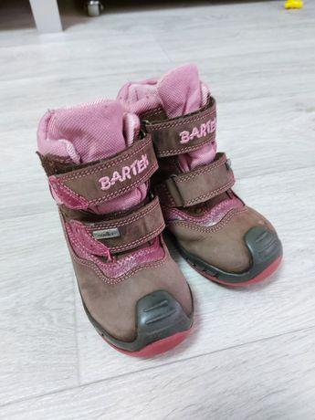 Зимові черевики Bartek Бартек 23 сапожки ботинки для дівчинки