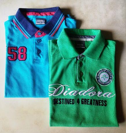 Рубашки-поло Diadora 2 шт на подростка 14 лет