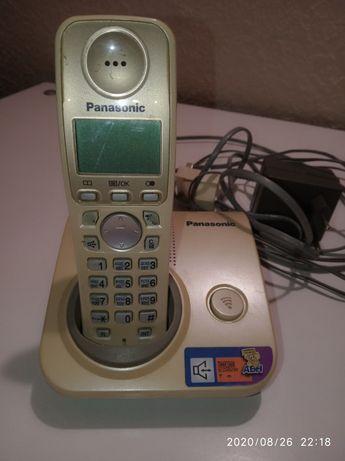 Стационарный телефон переносной Панасоник