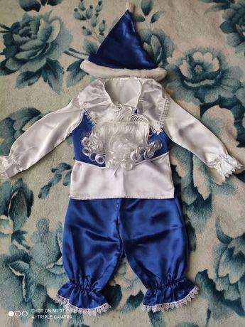 Новорічний карнавальний костюм гномика. ПРОКАТ