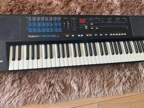 Roland E-15 organy elektryczne pianimo keyboard