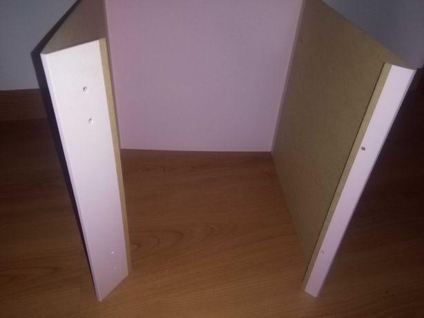 Estrutura com porta para estante (IKEA)