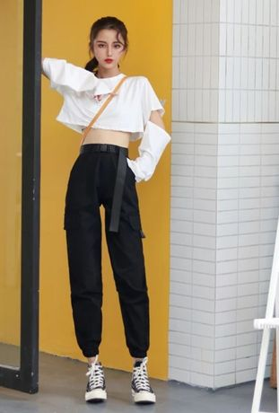 Штаны карго в Корейском стиле, Брюки - карго