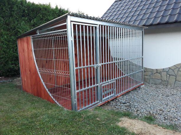 """Kojec dla psa ocynkowany solidny katka """"ŁEZKA"""" 3x2"""