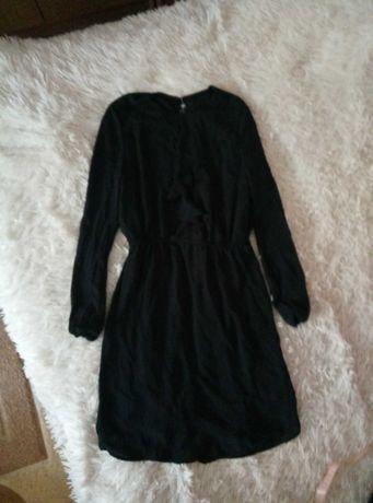 Платье H&M легкое черное