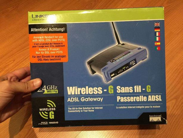 Router Linksys Wireless G WAG54G