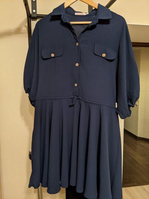Платье темносинее Херсон - изображение 1