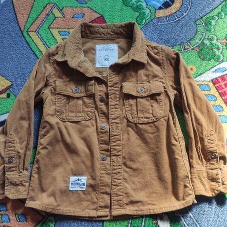 Koszula sztruksowa Reserved rozm.92