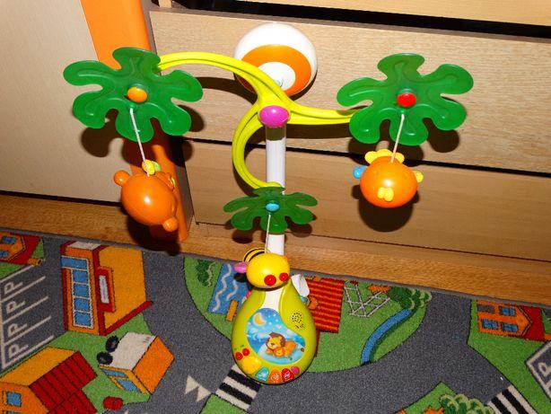 Karuzelka Baby mix automatyczna-3 tryby-karuzelka, lampka, melodie