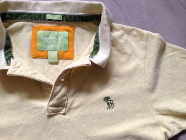 Koszulka polo kremowa ecry S Abercromby