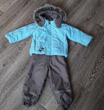 Комплект куртка полукомбинезон Lassie зима демисезон