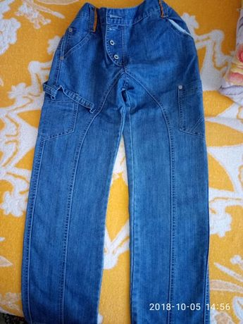 модные джинсы 140-146