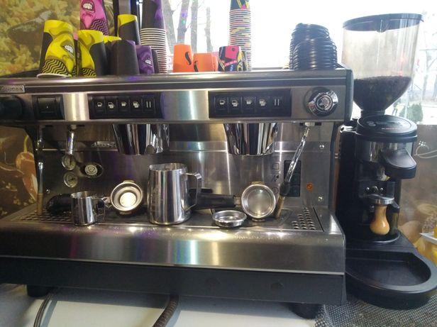 Кофемашина,Rancilio classe 7,кофемолка
