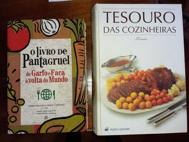 Livros culinária,o valor é pelos dois,ultimo valor