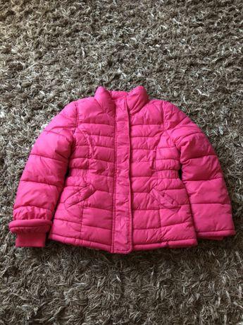 Kurtka dla dziewczynki HM 116 różowa - rewelacyjna!