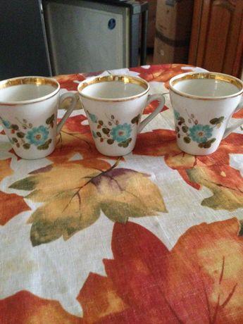 Чашки кофейные,фаянс