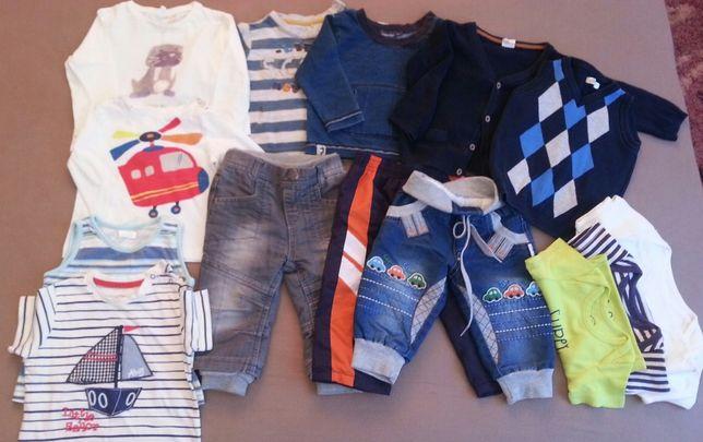 пакет комплект одежды вещей кофта штаны лонгслив худи боди 74 размер