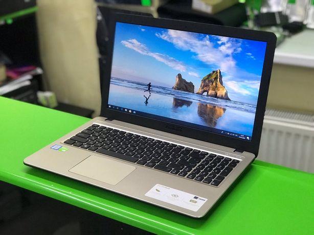 • • • Ноутбук Asus Vivobook 15 X540U Gold Для Игр и Работы • • •