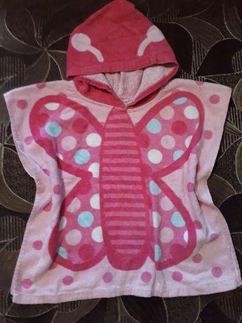 Полотенце бабочка пончо