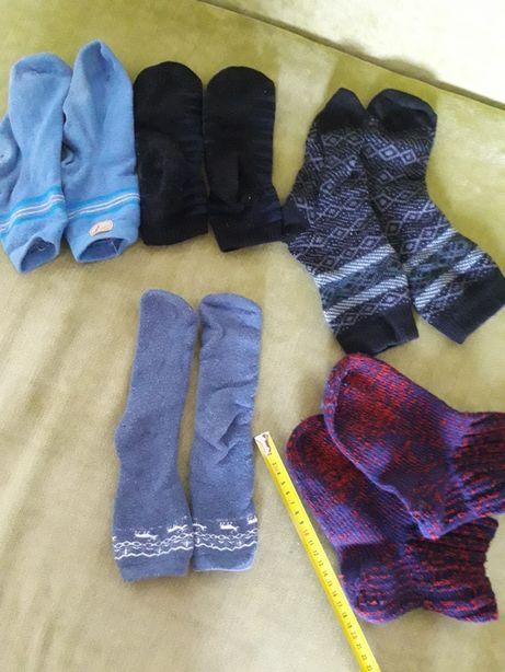 Теплые детские носки 5 пар 40 грн