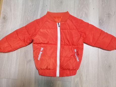 Куртка ветровка для детей на рост 100-110 см