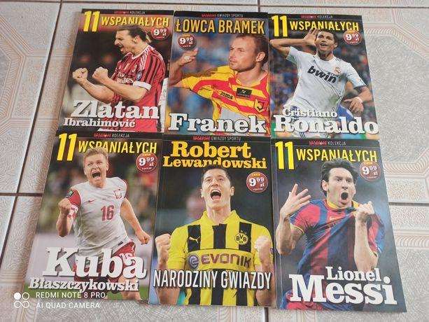 Książki piłkarskie Messi Ronaldo Lewy