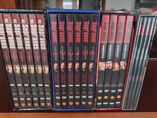Sopranos 4 primeiras temporadas dvd