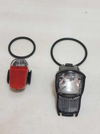 Conjunto de luzes de bicicleta (frente e trás) - Novo em saldos