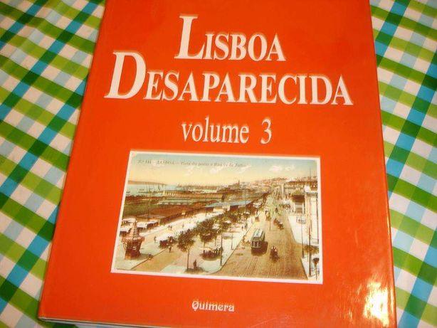 Livro Lisboa Desaparecida volumes 3