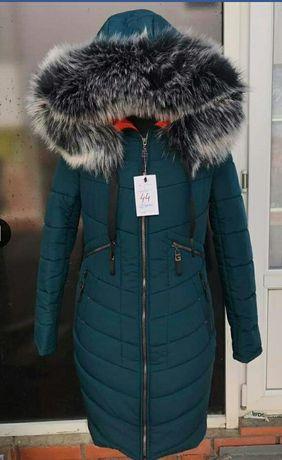 Женская теплая курточка, полупальто, пуховик.