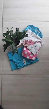 Bluzka, bluzki, kombinezon, rozmiar: 122 cm