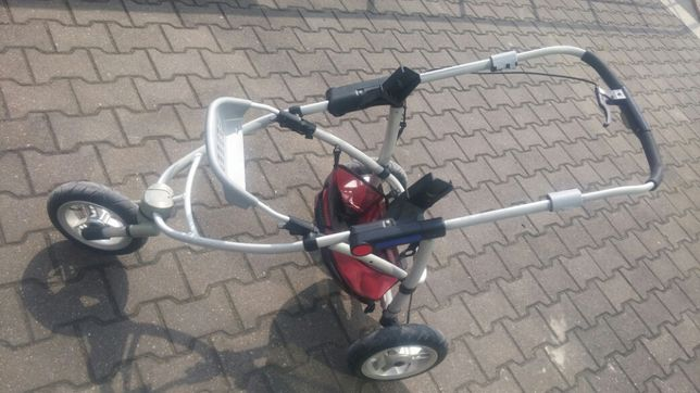 Wózek gondola stelaż koła Quinny xl 3kołowy części mozliwa wysyłka