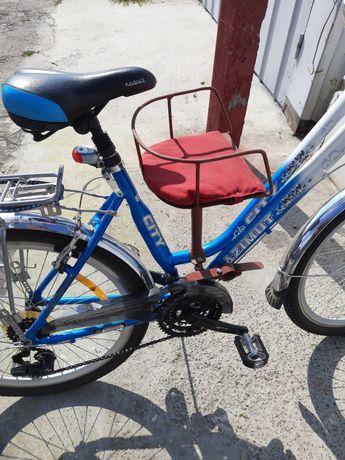 Сиденье для ребенка на складной велосипед