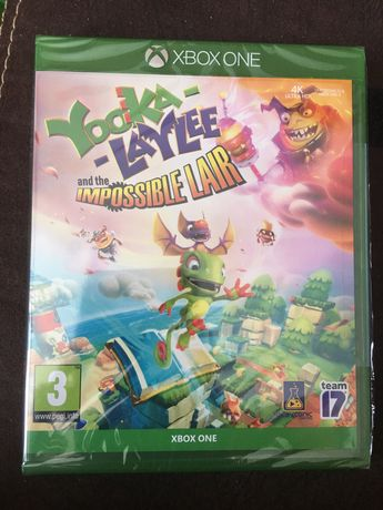 Yooka - Laylee and the Impossible Lair (Xbox One) - NOWA FOLIA