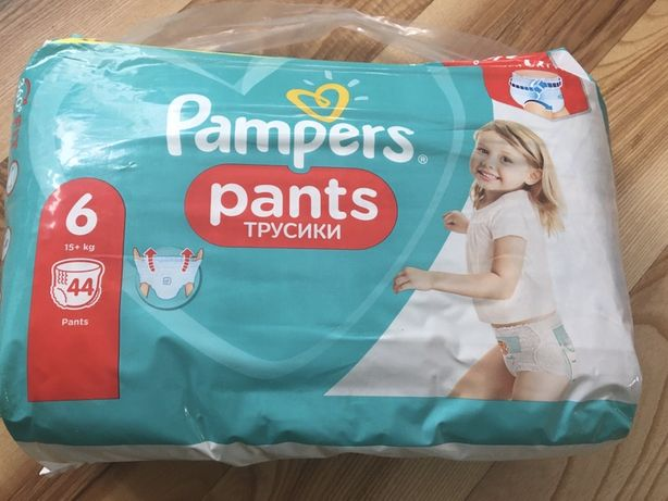 Pieluchy Pampers pants 6 NOWE