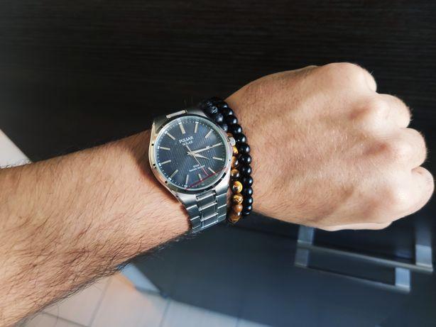 Nowy Klasyczny zegarek Pulsar Solar PX3117X1 seiko