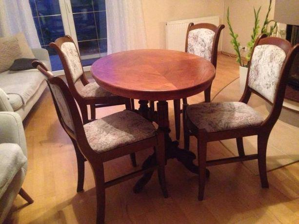 Stół CEPELIA + 4 krzesła