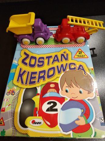 Gra edukacyjna Znaki drogowe i przepisy + 2 auta, duże ruchome autka