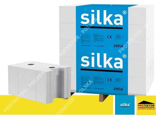 SILKA E24 blok silikatowy pustak cegła silikatowa sylikat bloczek P+W