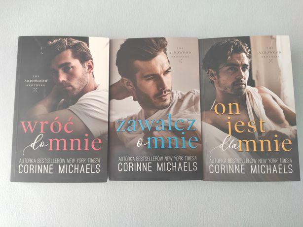 Wróć do mnie, Zawalcz o mnie, On jest dla mnie Corinne Michaels
