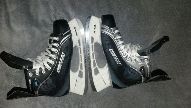 Nowe łyżwy Nike Bauer