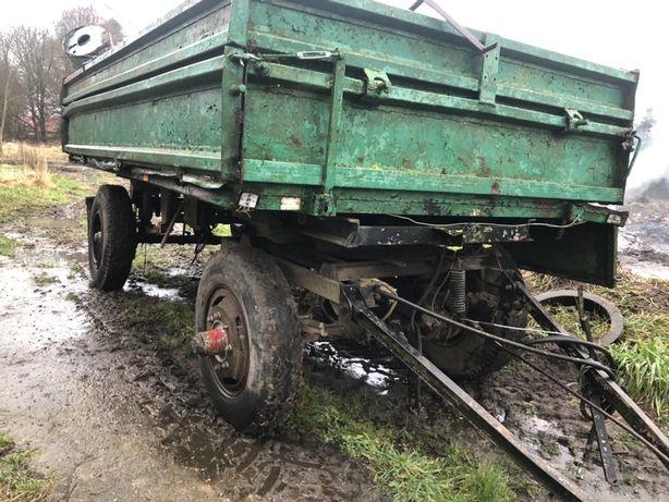 Przyczepa rolnicza Hl 6 ton HW 6011