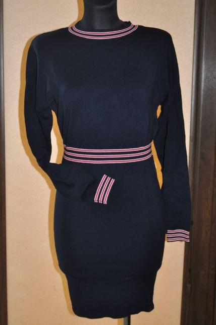 granatowa dzianinowa sukienka Orsay r. S nowa z metką
