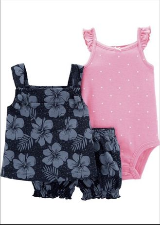 Костюм комплект летний набор шорты майка боди