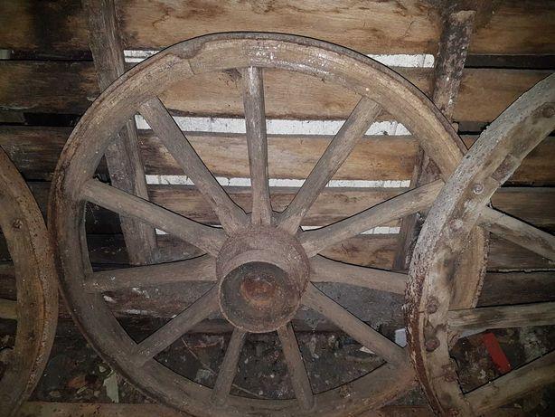 Деревяные колеса от Кореты