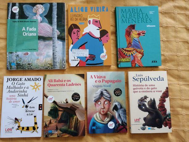 Livros diversos do Plano Nacional de Leitura (Ler +)