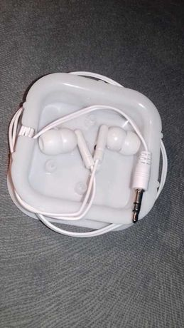 Słuchawki do telefonu białe nowe