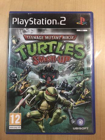 Tartarugas Ninja jogo PS2 / Playstation 2