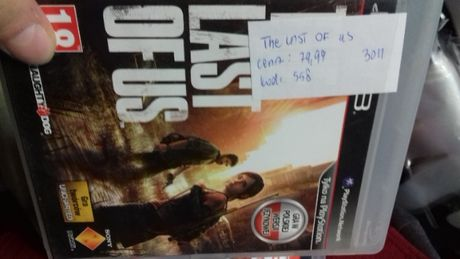 The last of us ps3, sklep Tychy