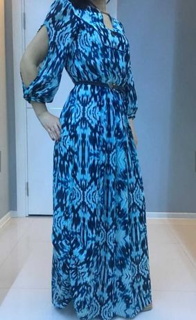 Длинное макси платье сарафан размер xs-s